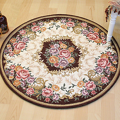 Bath Mats Casual / Country Polyster, Rectangle Superior Quality Rug / Non Skid