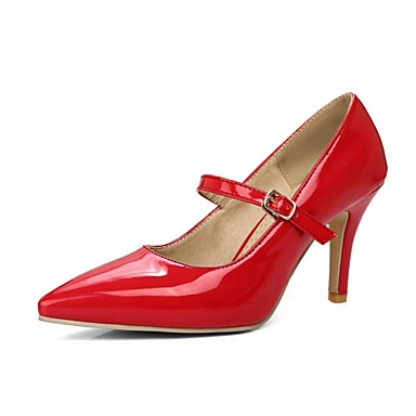 Bout pointu Talons Basique Rose Similicuir Chaussures Rouge Chaussures Aiguille Femme 06654172 Talon Automne Beige Printemps Escarpin à gwqfFC7Px