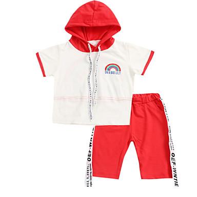 Bebelus Băieți Mată Manșon scurt Set Îmbrăcăminte