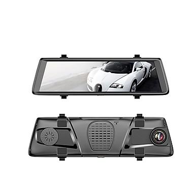 billige Bil-DVR-V6 1080p Nattsyn Bil DVR 150 grader Bred vinkel 10.1 tommers IPS Dash Cam med WIFI / GPS / G-Sensor Bilopptaker / Parkeringsmodus