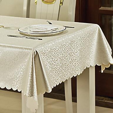 Współczesny PVC Kwadrat Obrusy Kwiaty / Drukowany Dekoracje stołowe 1 pcs