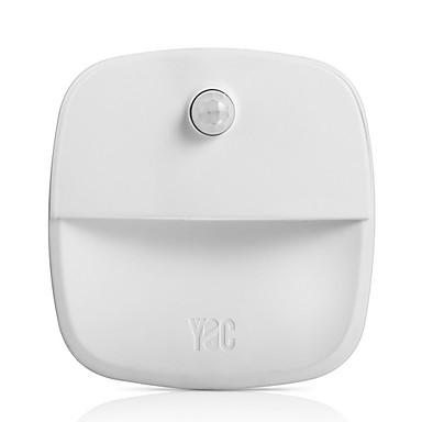 1szt Światło toaletowe Ciepła biel Zasilane baterie AAA Czujka ciała człowieka <5 V
