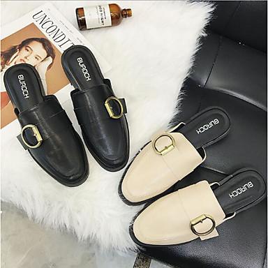 Noir Amande Eté Confort Chaussures Talon Plat Femme Sabot 06672109 amp; Mules Polyuréthane vtzExdqdw