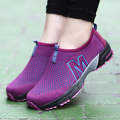 Tissu Femme Plat Printemps Talon Tulle Rose Chaussures clair Fuchsia Confort d'Athlétisme Chaussures été 06696638 Bleu Gris rSTSqwE