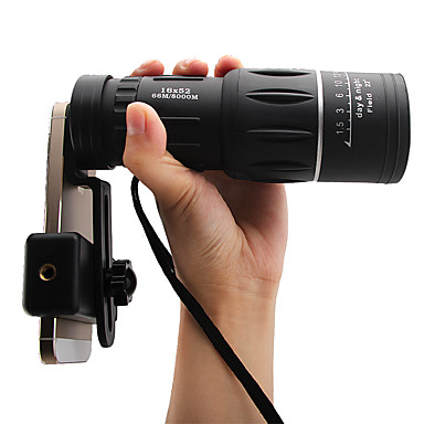 billige Kikkerter og teleskop-8 X 40 mm Monokulær Bærbar Nattsyn BAK4 Jakt Fisking Camping / Vandring / Grotte Udforskning ABS + PC