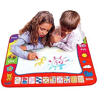 voordelige tekening Speeltjes-Water Drawing Play Mat Tekenspeelgoed Verf Eenvoudig Ouder-kind interactie Kinderen Speeltjes Geschenk 1 pcs
