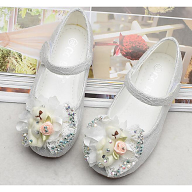 07fc03cff717a4 Girls  Shoes Tulle Spring Comfort   Flower Girl Shoes Flats for White   Pink