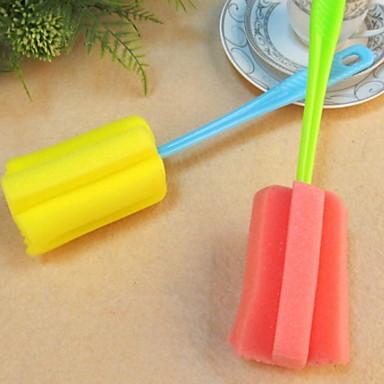 Kuchnia Środki czystości Tworzywa sztuczne / gąbki z mikrofibry Rolka do czyszczenia ubrań i szczotka Kreatywny gadżet kuchenny 1 szt.