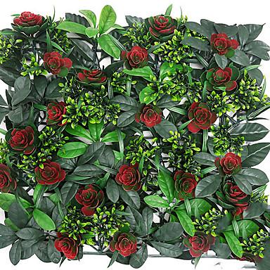 Sztuczne Kwiaty 1 Gałąź Rustykalny Roses / Rośliny Kwiaty na ścianę