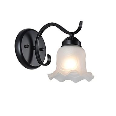 Ochrona oczu Prosty Lampy ścienne Living Room / Sypialnia / Jadalnia Metal Światło ścienne 110-120V / 220-240V 60W