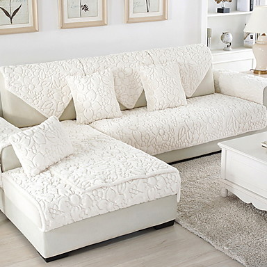 Pokrowiec na sofę Solidne kolory Reactive Drukuj Poliester / Bawełna Slipcovers