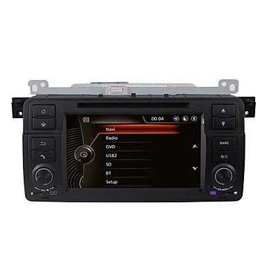 billige Bil Elektronikk-Factory OEM 7 tommers 1 Din Windows CE 6.0 Innebygget Bluetooth / GPS / RDS til BMW Brukerstøtte / Pekeskjerm / SD / USB-support / VCD