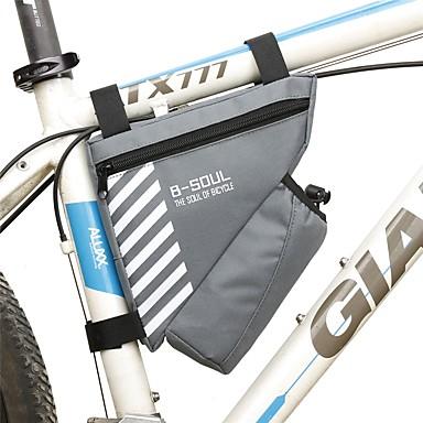 1.8 L Torba rowerowa na ramę / Torba na ramie trójkąta Ekran dotykowy, Wbudowany Bag Kettle, Zdatny do noszenia Torba rowerowa Terylen Torba na rower Torba rowerowa Kolarstwo / Rower