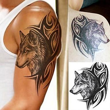 5pcs Naklejka Seria zwierzęca / Seria totemiczna Naklejki z tatuażem