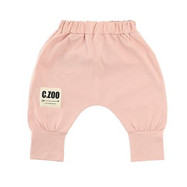 Bebelus Unisex De Bază Mată Bumbac Pantaloni / Copil