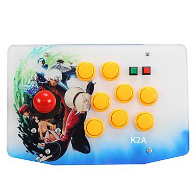 K2A Przewodowy / a Kontrolery gier Na Sony PS3 / Android / PC Kontrolery gier ABS 1pcs jednostka USB 2.0