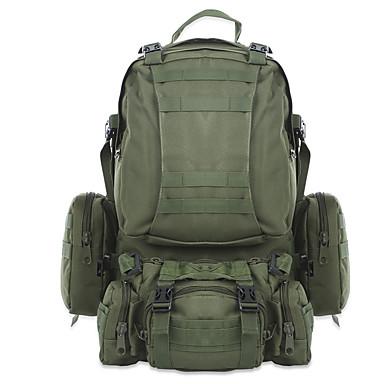 2b37960346344 Sırt Çantaları Askeri Taktik Sırt Çantası 40 L - Yağmur-Geçirmez  Giyilebilir Açık hava Kamp Askeri Seyahat Oxford Ordu Yeşili Kamuflaj Haki