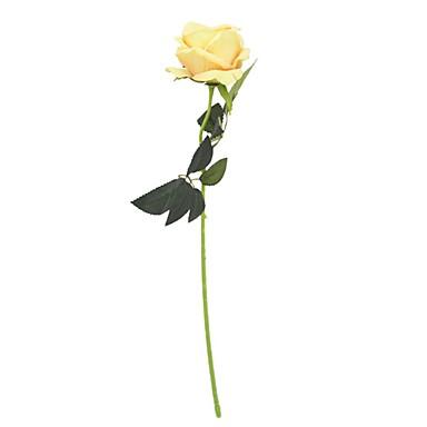 Sztuczne Kwiaty 1 Gałąź Rustykalny / Ślub Róże / Wieczne Kwiaty Bukiety na stół