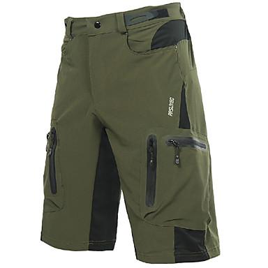 12c4f9682ec3df Arsuxeo Hombre Ciclismo Pantalones cortos para MTB Bicicleta Shorts ...