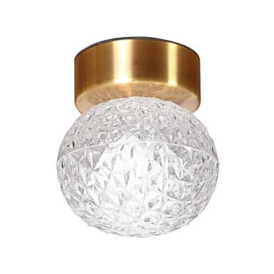 QIHengZhaoMing Podtynkowy Światło rozproszone Galwanizowany Metal Szkło 110-120V / 220-240V Ciepła biel Zawiera żarówkę / LED zintegrowany