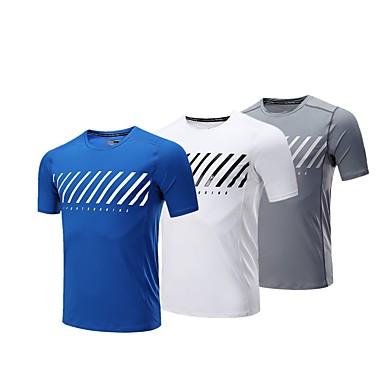 BARBOK Hombre Cuello Barco Camiseta interior - Blanco 1904dd9df0c0