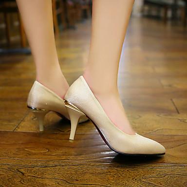 Violet Basique pointu 06675947 Similicuir Beige Chaussures Talon Escarpin Rouge été Talons Chaussures à Femme Bout Printemps Aiguille a6wxSX7q