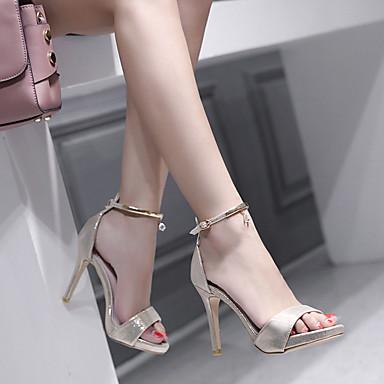 ouvert 06687530 Aiguille Paillette Sandales Personnalisées Chaussures Matières Brillante Femme Printemps été Talon Noir Basique Escarpin Bout PAaxqw