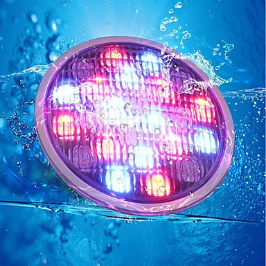 abordables Éclairage Extérieur-YouOKLight 1pc 18 W Lumière Sous-marine Télécommandé / Décorative RVB 24 V Piscine 18 Perles LED