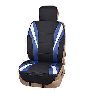 Husă Scaun Auto Perne pentru scaune Negru / Roșu / Negru / Albastru Piele Artificială Afacere for Παγκόσμιο Universal