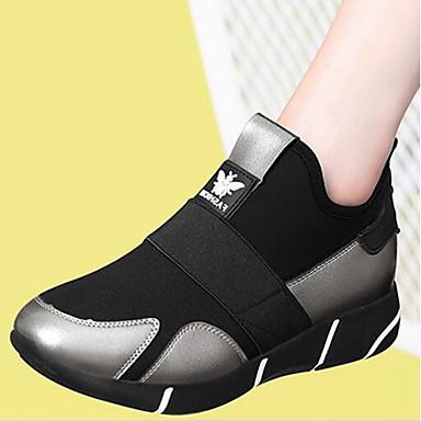 Argent Plateau 06717074 Polyuréthane Basket Noir Confort Femme Printemps Chaussures RwXOaqq70