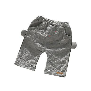Bebelus Băieți De Bază Mată Bumbac Pantaloni / Copil