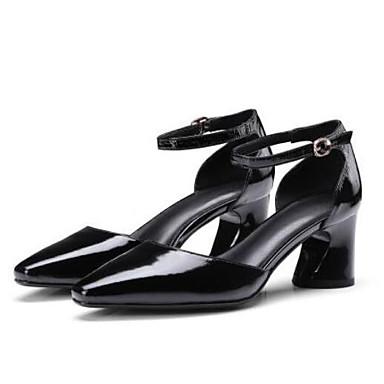 Femme Chaussures Chaussures Talons à Cuir Jaune Talon 06771133 Nappa Confort Eté Bottier Noir FXBwHqFx