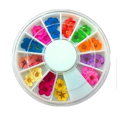 36 pcs Sfaturi utile artificiale Nail Art Kit Bijuterie unghii Design Modern / Dantelă nail art pedichiura si manichiura Purtare Zilnică Stilat / Simplu / Unghiul de bijuterii