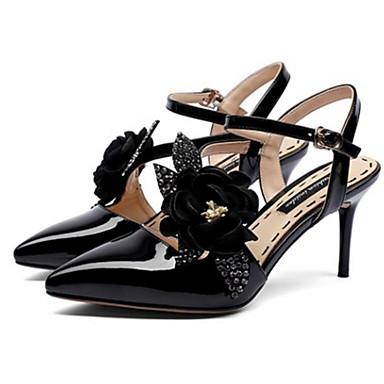 Aiguille Nappa Basique Talon Cuir Femme 06766523 Sandales Rouge Amande Confort Escarpin Chaussures Noir Eté Printemps qwF00xvEz