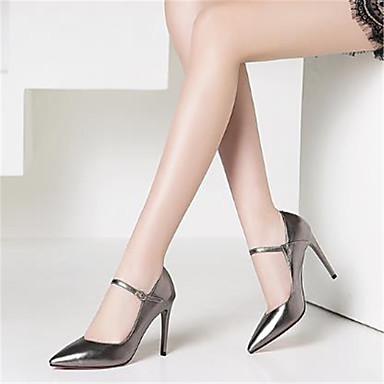 Chaussures Evénement Rose Talons pointu Femme Escarpin Chaussures Printemps Aiguille Argent amp; Rouge Basique Soirée Bout 06769424 Talon été Cuir à xZqSYqwfU