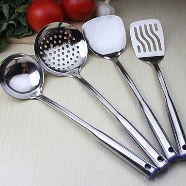 Ustensile de bucătărie Oțel inoxidabil Unelte Spațiu de Cinat & Bucătărie / Veselă 4 buc