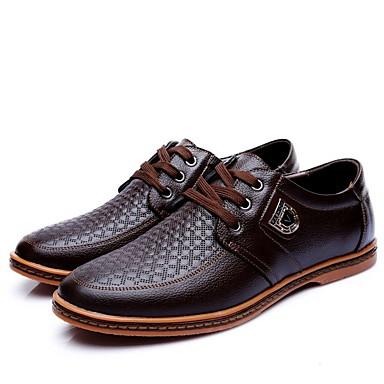 Homme Chaussures de de de confort Cuir Verni Eté Oxfords Noir / Marron / Soirée & EvéneHommes t / Soirée & EvéneHommes t | à Prix Réduits  96db12
