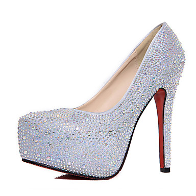 Basique Eté Marche 06722162 Brillante Argent Aiguille Bout Talons à Chaussures Femme Paillette Escarpin pointu Chaussures Polyuréthane Talon wEn8xI6gqa