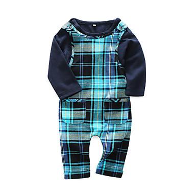 Bebelus Băieți Activ Imprimeu Manșon Lung Bumbac Set Îmbrăcăminte / Copil