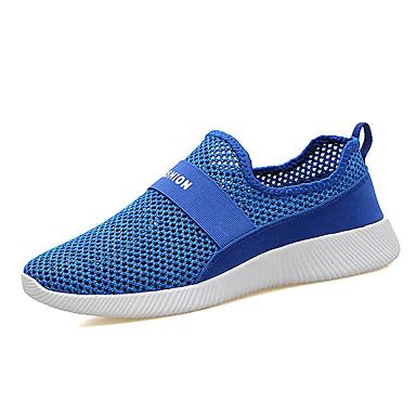 Bărbați Pantofi Tul Vară Confortabili Adidași de Atletism Alergare Verde / Albastru / Negru / Roșu