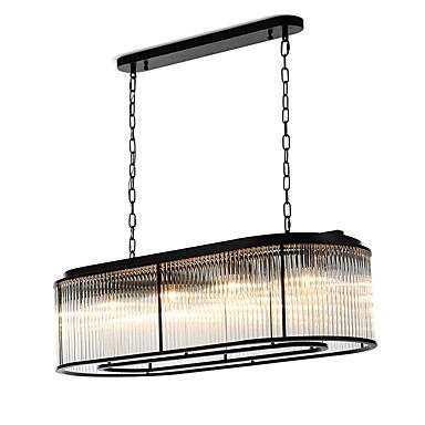 QIHengZhaoMing 8-Light Φωτιστικό Νησίδας Candelabre Lumini Ambientale 110-120V / 220-240V, Alb Cald, Bec Inclus / 10-15㎡