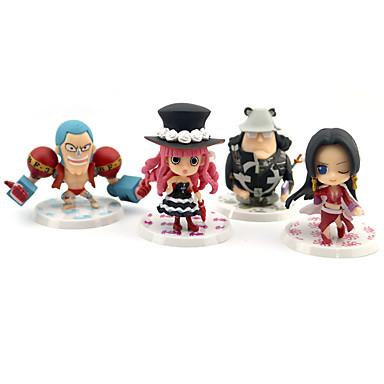 Anime Aksiyon figürleri Esinlenen One Piece Boa Hancock Perona PVC 7 cm CM Model Oyuncaklar Oyuncak bebek