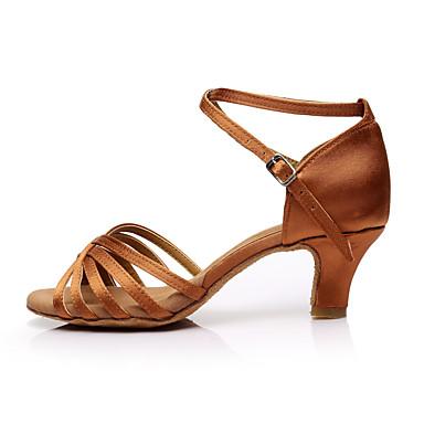 Latines Chaussures Sbrchqxdt Talon Fantaisie Lar4j5 Femme Satin trdCosQxBh