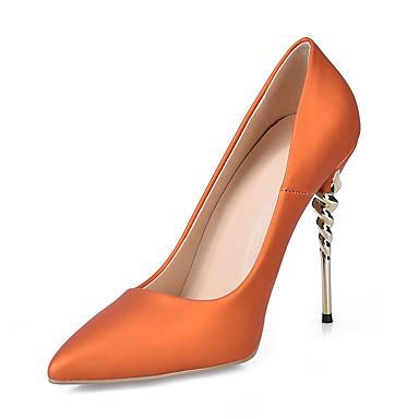 Basique Femme Escarpin Talons Cuir Jaune pointu Chaussures Vert Chaussures Faux à été Printemps Soirée Evénement amp; Aiguille Talon Bout 06766344 Bleu 4wrS4xq