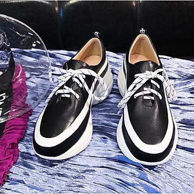 06831375 Bout Basket de Femme Confort semelle Noir Eté Printemps Rose fermé Chaussures compensée Nappa Hauteur Cuir SSPwqZYxH