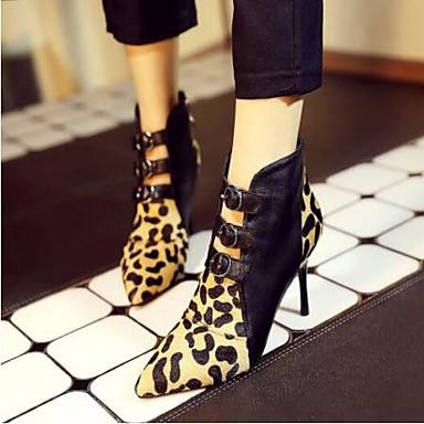 Crin à Basique Printemps Chaussures Cheval Noir Talons amp; Automne Aiguille Femme de Soirée Chaussures Talon 06791385 Evénement Escarpin znfqxF05w