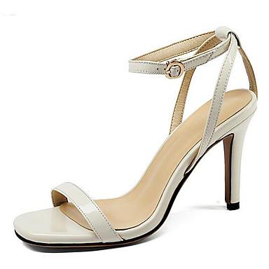 Eté Aiguille Blanc Talon Femme Nappa Chaussures Cuir Confort Sandales 06797738 Noir qxRfUpSH
