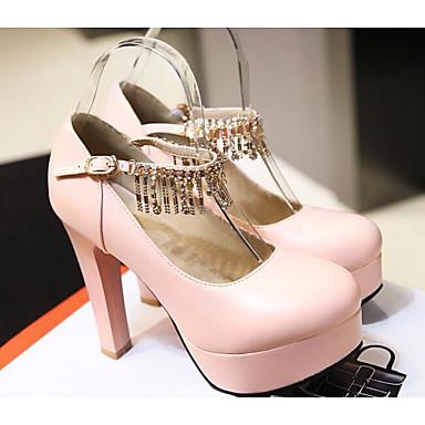 plus récent 37b88 99b1a Rose Chaussures Automne Basique Talons à Bleu Escarpin ...