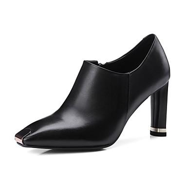 Talon Cuir Confort Femme Printemps 06840334 Nappa Noir Chaussures été Bottes Bottier 50f5qAUxn