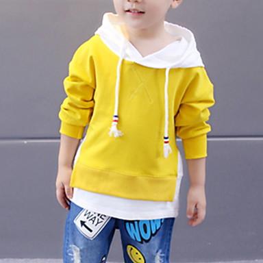 Djeca Dječaci Print Dugih rukava Bluza